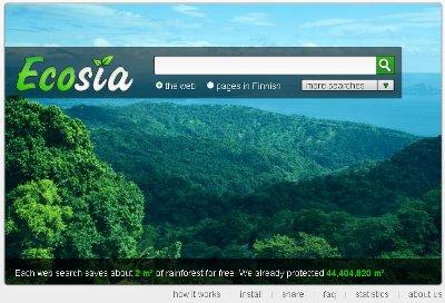 موتور جستجوی سبز- حامی محیط زیست