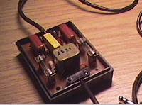Inside view of Philips adapter circuit