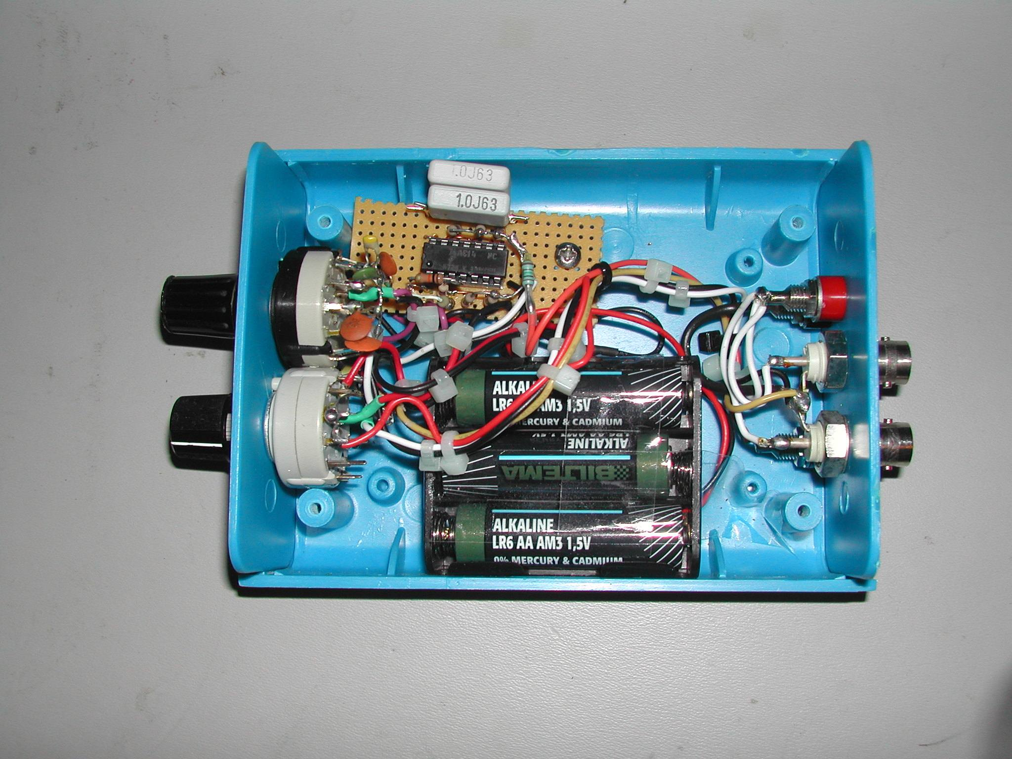 Tdr Circuit Capacitor Tester Diagram Electronic Circuits Inside