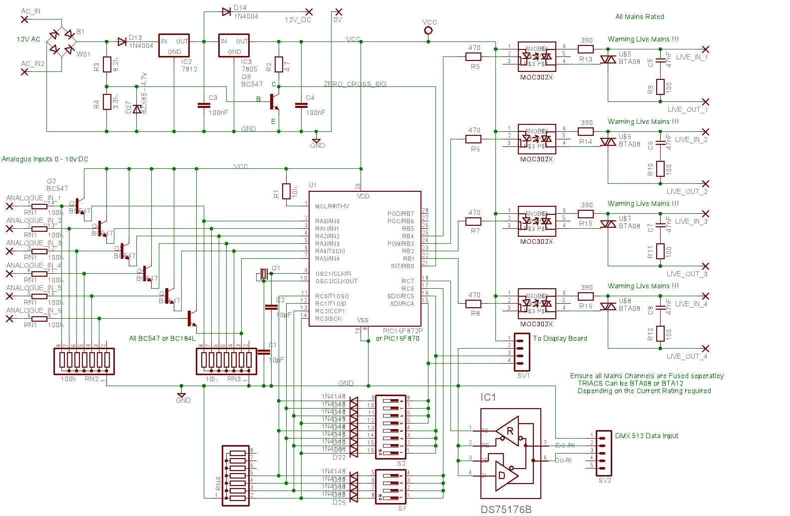 E Panorama Digi Pack Led Lights Ac Wiring Diagram The Schematics Shows Circuit