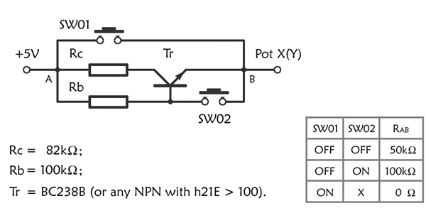 elvir mulahmetovic has sedigned the following circuit to allows you to use  just switches witch are normally open  the circuit is very simple