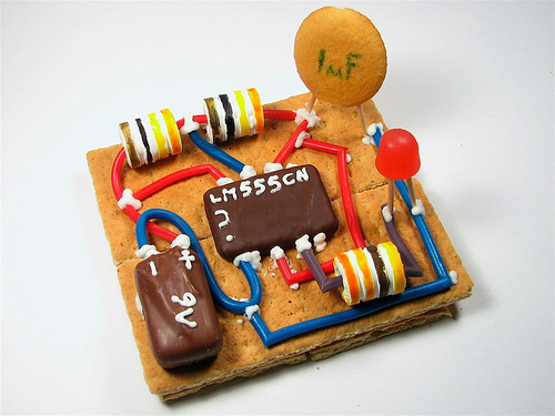 Electronics snack example