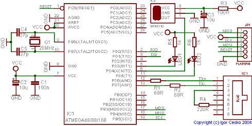 UDP_IP_computer_infrared_remote_control