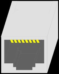 RJ45F8P2