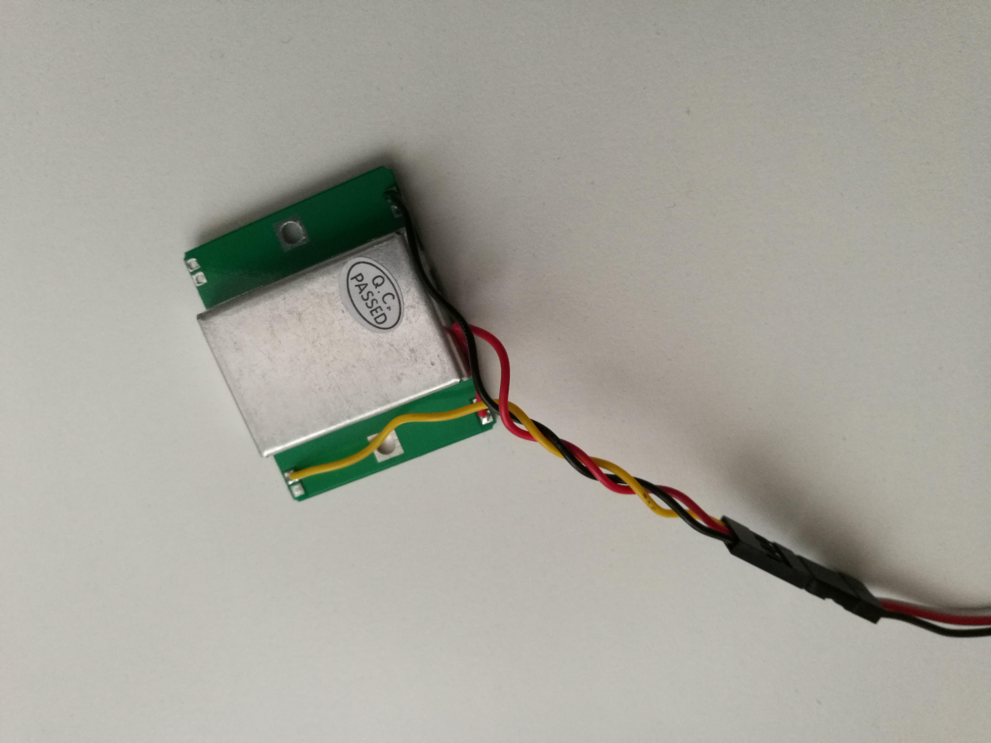 HB100 microwave radar to Arduino |