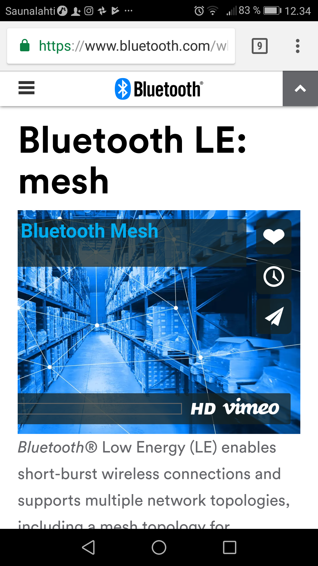 Low Energy: Mesh Bluetooth Technology |