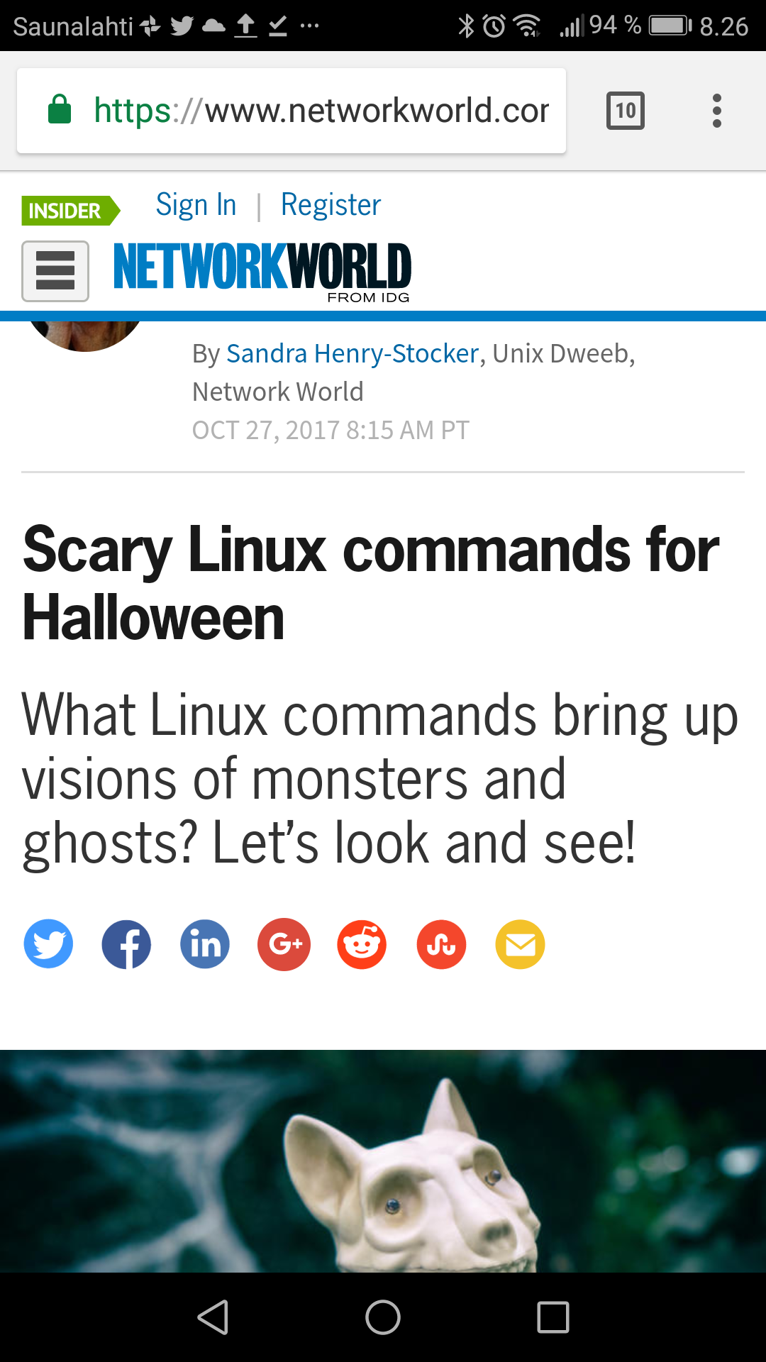 Scary Linux commands for Halloween | Network World |