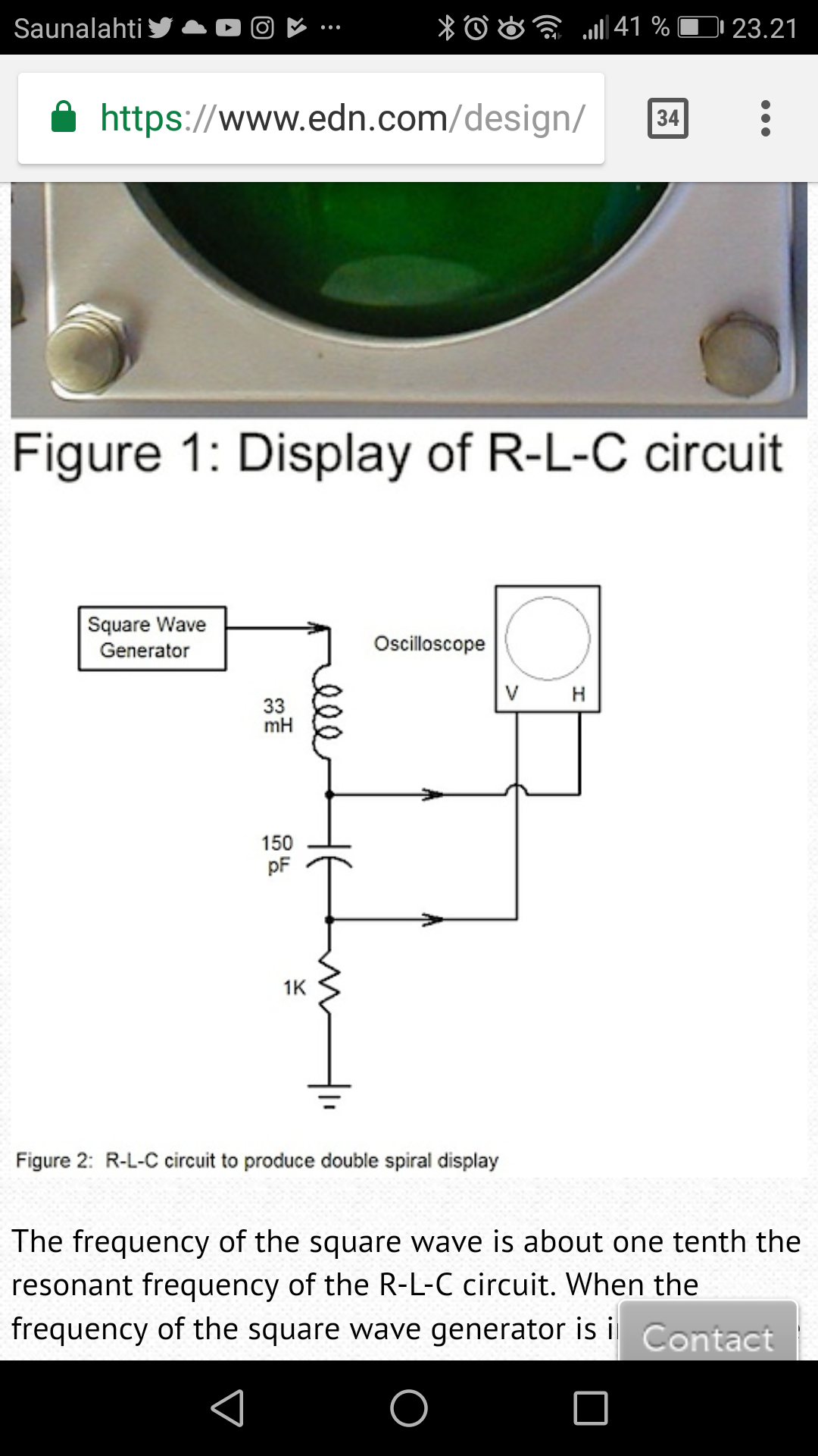 Simple Circuits Enable Oscilloscope Art Recording Playback Circuit Pic16f876a Electronics Projects I Built The From This Edn Article