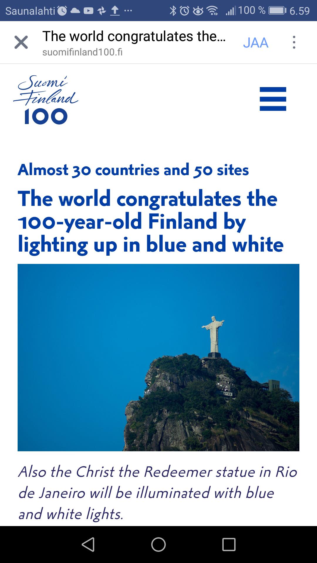 Finland 100 Years News