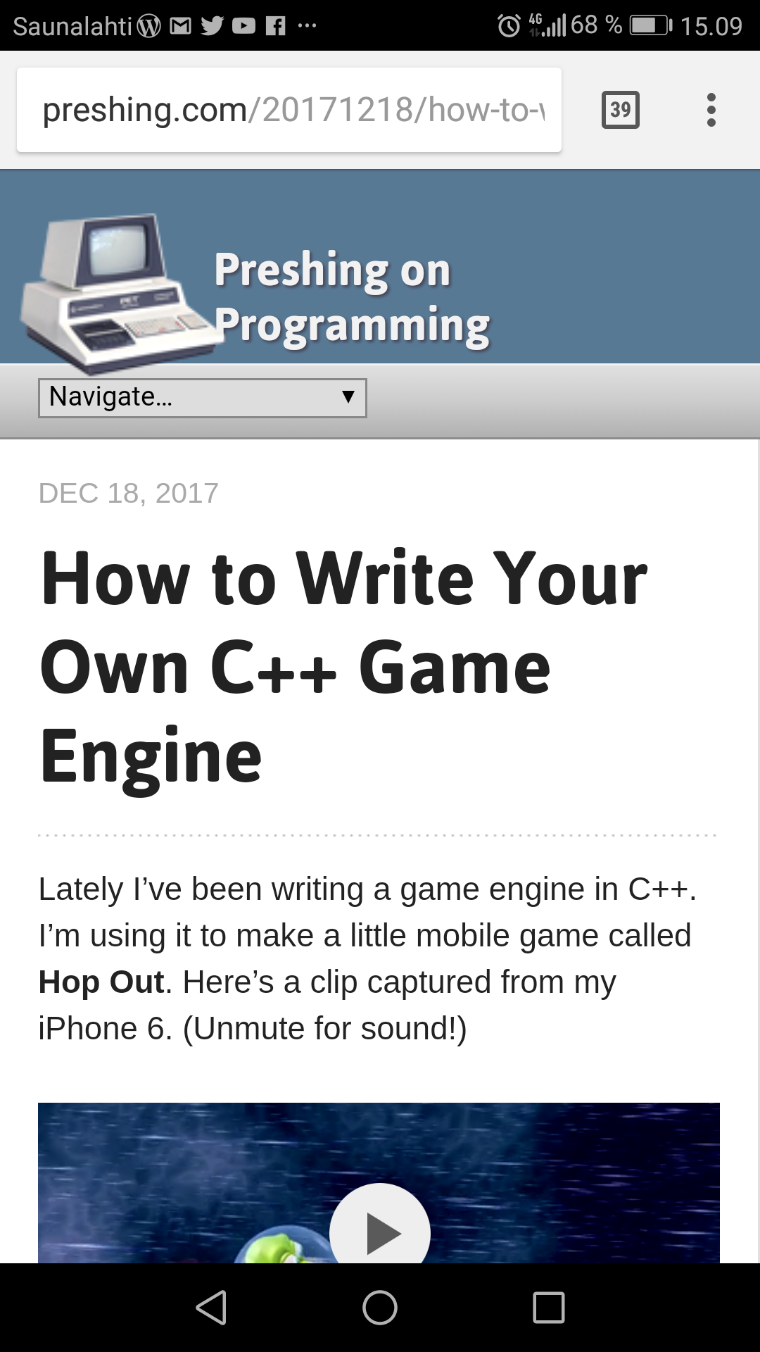 Writing your own iterator c++