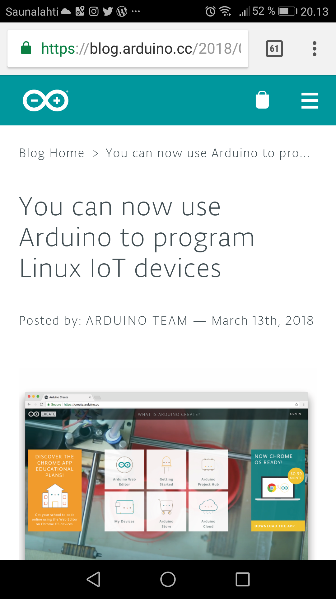 Arduino Blog You Can Now Use To Program Linux Iot Devices Raspberry Pi Gpio Ruby Wiringpi 7 Comments