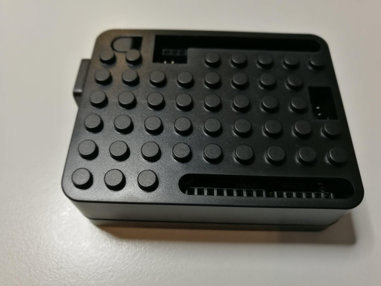 Arduino black abs case