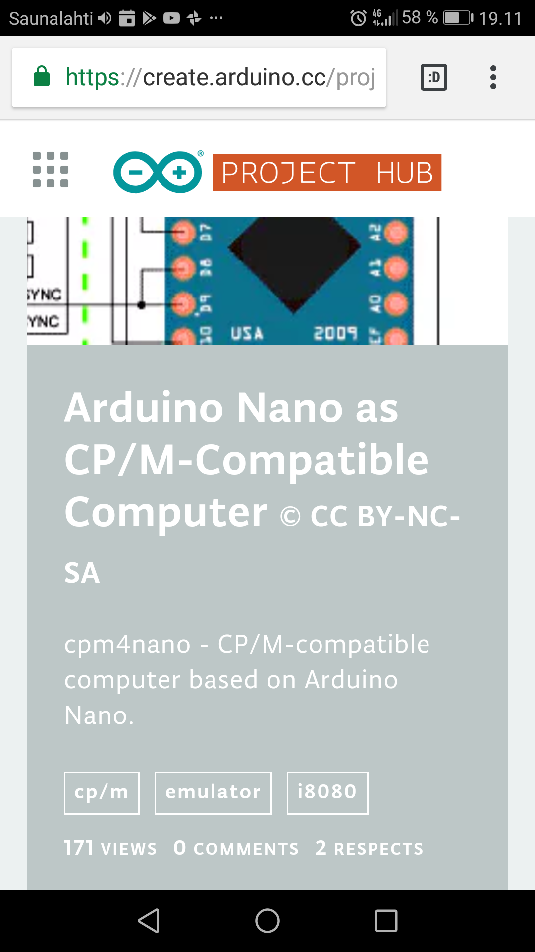 Arduino Nano as CP/M-Compatible Computer – Arduino Project Hub  